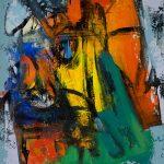 "Andris Vītols ""Sabile"". 2012, a/akrils, 100x80"