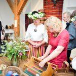 """Talsu tautas nama audēju kopas """"Talse"""" un Talsu novada muzeja krājuma izstādes """"Brunči – lindraki"""" atklāšana"""