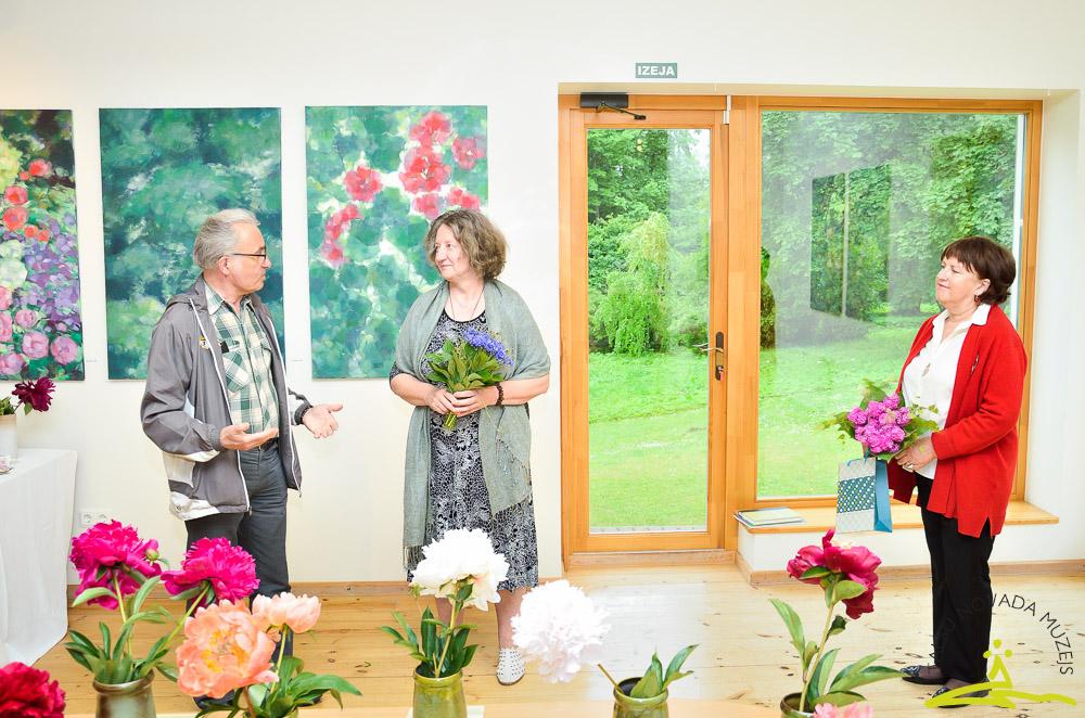 Tikšanās ar mākslinieci Laimdotu Junkaru