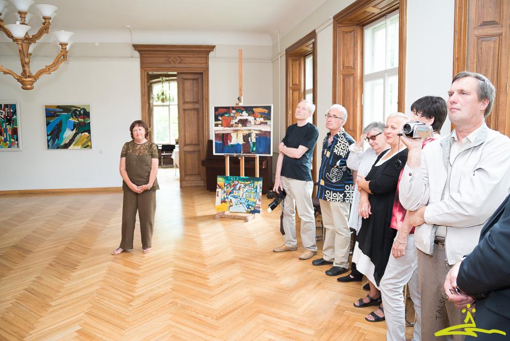 Tikšanās ar mākslinieka Valda Buša ģimeni