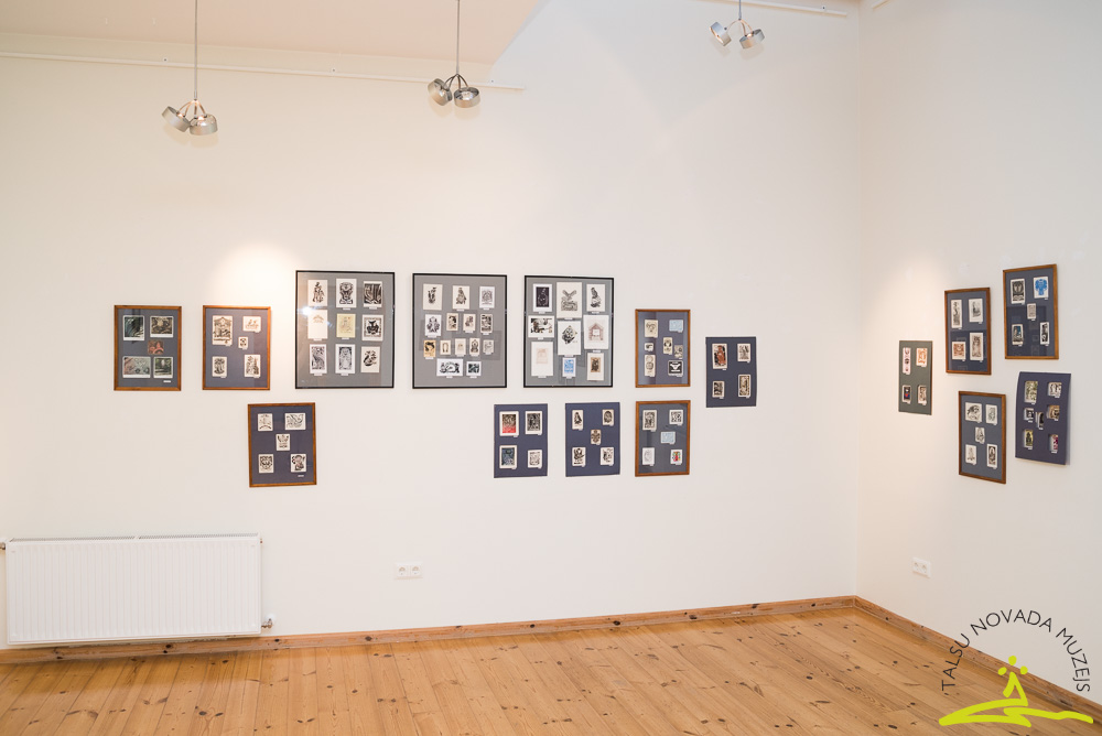 Gaidas Šilinskas EX LIBRIS kolekcijas izstāde