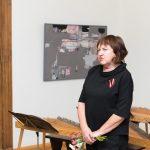 Talsu mākslinieku - novadnieku izstādes atklāšana