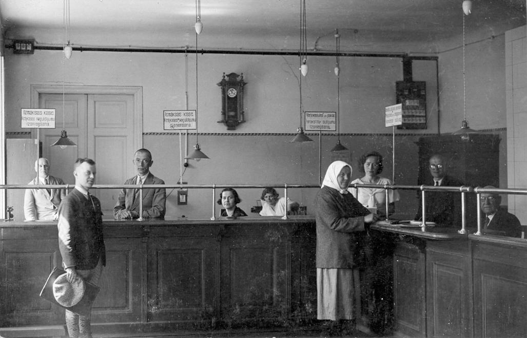 Talsu pastā, 1934. g.