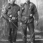 Skursteņslauķi Talsos ap 1925. g