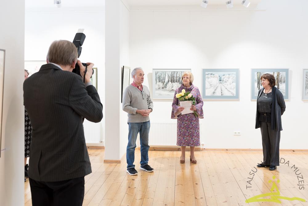 Tikšanās ar Ventspils mākslinieci Ritu Blaževiču