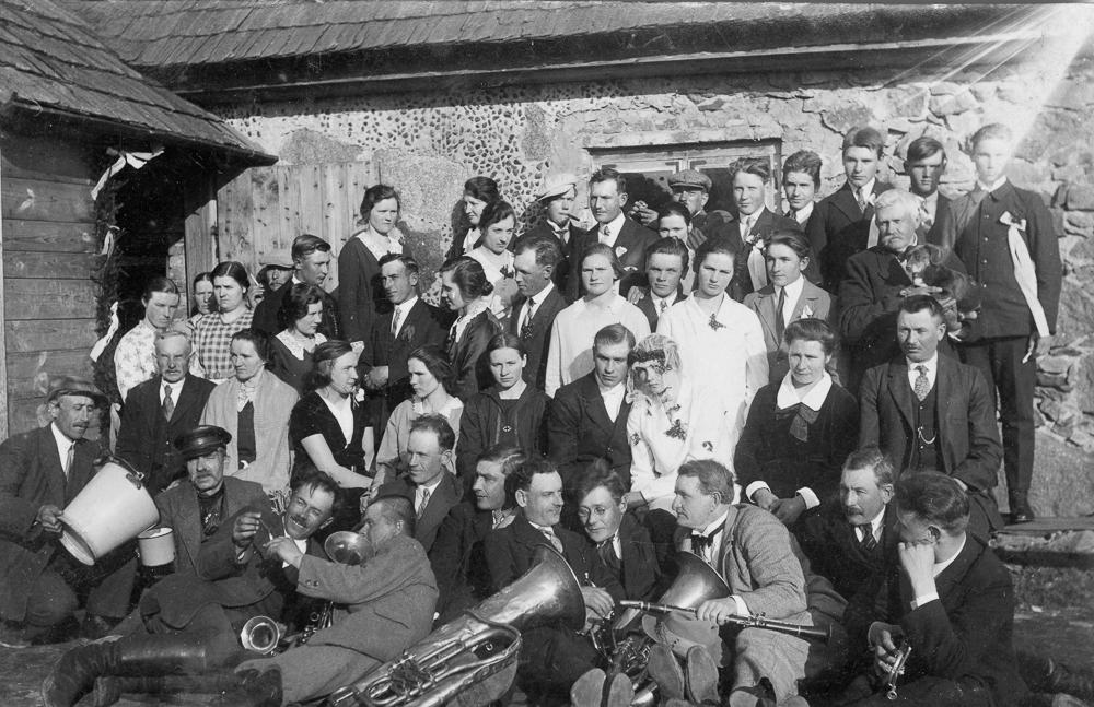 Kāzas Laucienes pagasta Fridrihmuižā, 1930. gadi