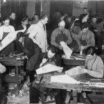 Kokļu gatavošanas kursi Tukumā, 1933. gads