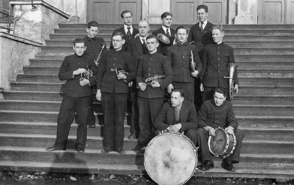 Talsu ģimnāzijas pūtēju orķestris, 1930. gadi