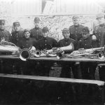 Aizsargu orķestris Talsos 1920. gados