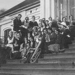 Talsu ģimnāzijas absolventi Meža dienās, 1933. gads