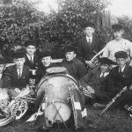 Jāņa Sūniņa orķestris Talsos pēc 1921. gada