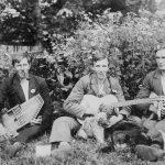 """Muzikanti """"Līčos"""", 1920. gads"""