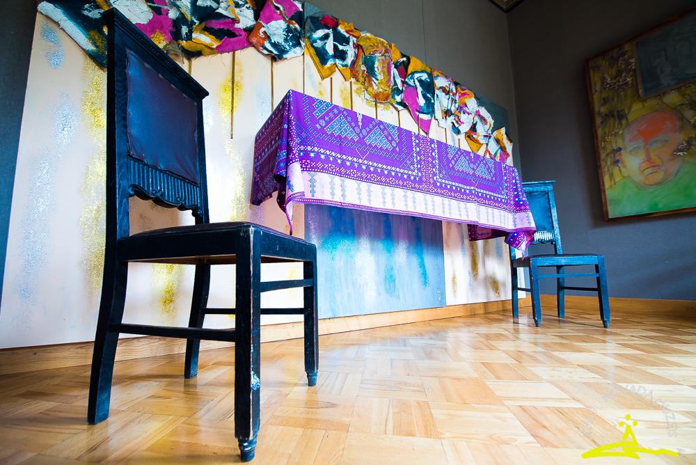 Bernāra Sordē izstādes atklāšana un intelektuāla meditācija