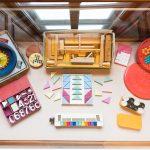 Rotaļlietu un skolas lietu izstāde