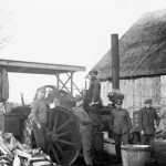 Kuļmašīnas tvaika katls Dzedros 1930. gados