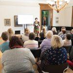 Initas Heinolas stāstījums par Kurzemes cimdiem Latvijas Nacionālā Vēstures muzeja kolekcijā
