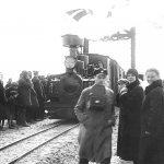 Valdemārpils stacijas atklāšana 1930.gadā