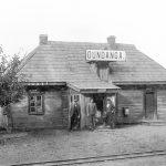 Dundagas vecā stacija 1920. gados