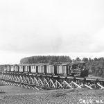 Vilciens ceļā uz Vandzeni