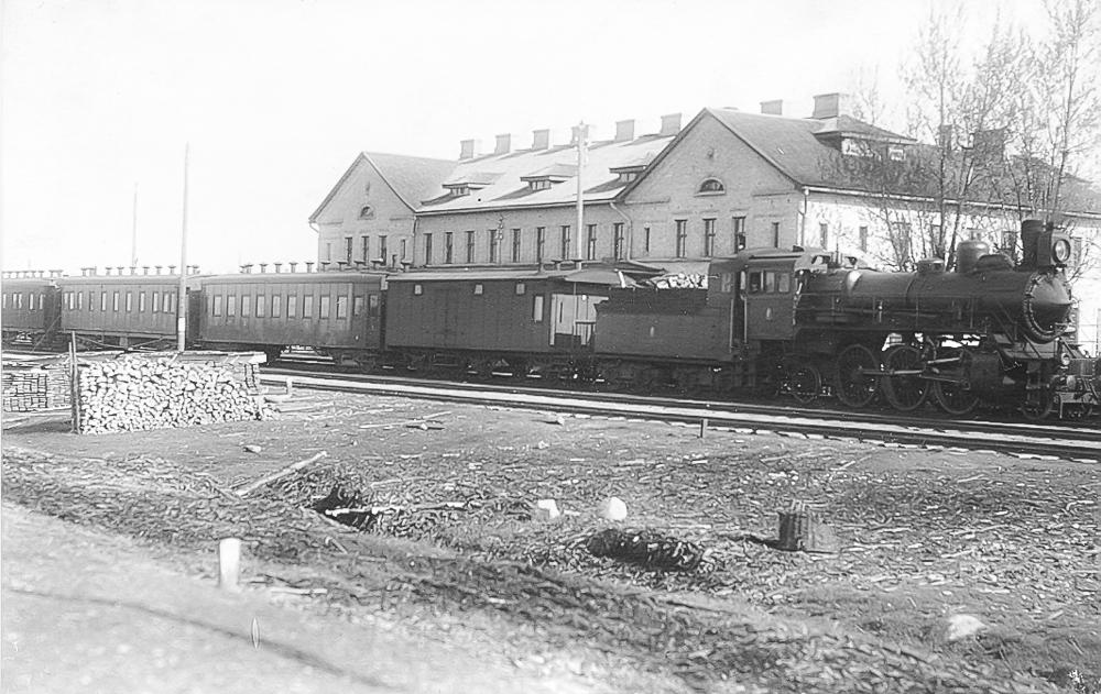 Stendes dzelzceļa stacija 1930.gados