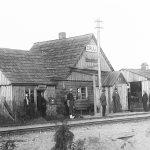 Cīruļu dzelzceļa stacija ap 1925. gadu
