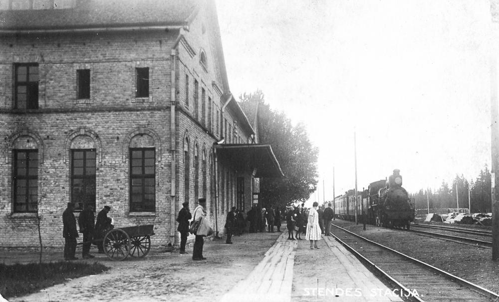 Stendes stacija 1933. gadā