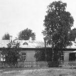 Ovišu stacija 1920.- 1930.gados. Bijusī bākas uzrauga māja
