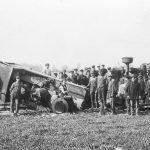 Dzelzceļa avārija posmā Stende - Talsi 1924. gada 28. maijā.