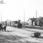 Talsu dzelzceļa stacija pirms 1930. gada