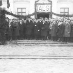 Talsu stacijas ēkas atklāšana 1930. gadā