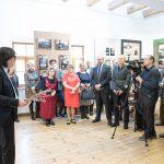 Talsu foto kluba 20. dzimšanas dienai veltītās izstādes atklāšana