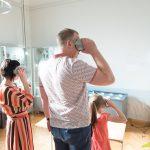 Arheoloģijas ekspozīcijā ceļo ar virtuālās realitātes brillēm.