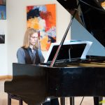 Pianists Artūrs Liepiņš sniedza divas konertprogrammas.