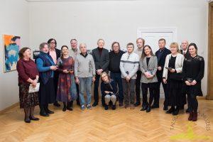 Ar Talsu novadu saistītie mākslinieki - 2019. gadā rīkotās izstādes darbu autori - Svētku vakarā 21. decembrī.