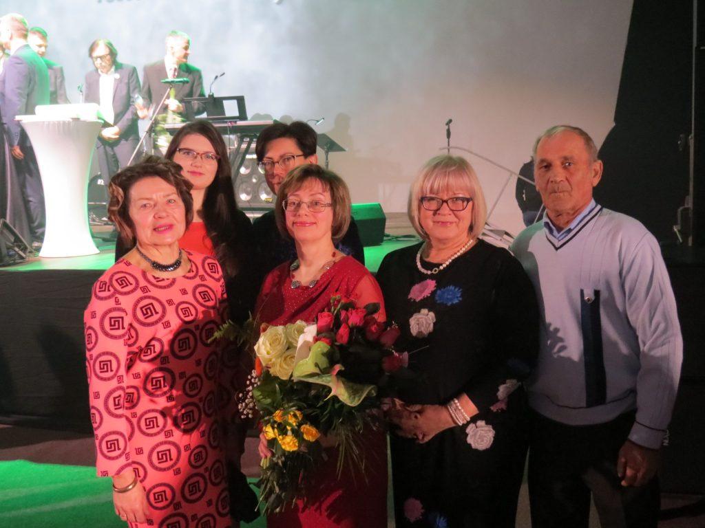 Talsu novada pašvaldības apbalvojumu kultūrā un sportā pasniegšanas pasākumā 2020. gada 7. februārī.