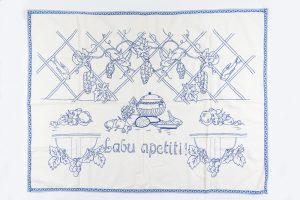 "Virtuves sienas dekors ""Labu apetīti!"", 1930. gadi"