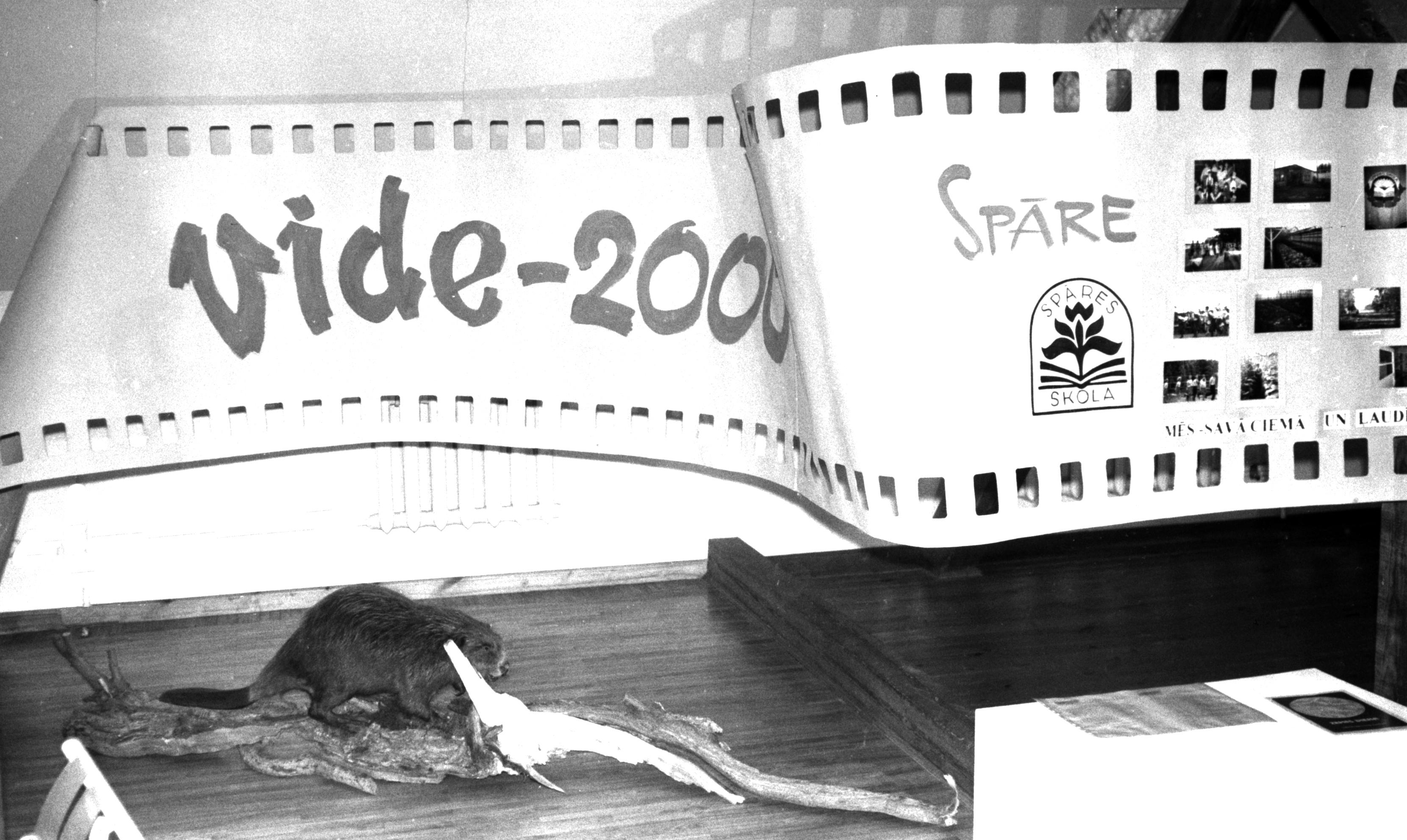 """Izstāde """"Vide-2000"""" Talsu novada muzejā 2000. gadā"""