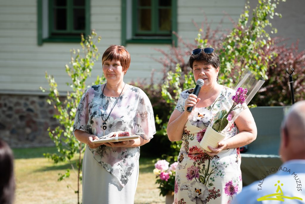 Rasa Bidiņa un Ligita Berga no Blīdenes. 2020. gada 26. jūnijs