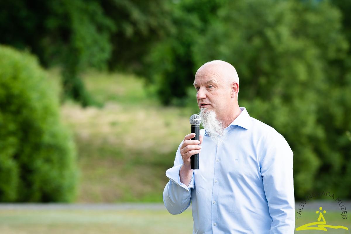 Lielvirbu muižas īpašnieks Ainārs Brūvelis. 2020. gada 26. jūnijs