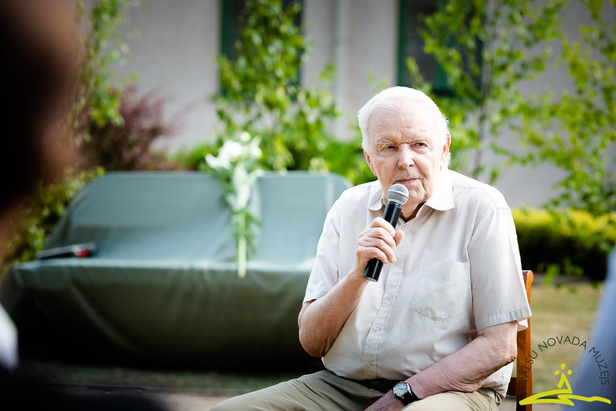K. F. Amendas ciltskoka pētnieks Juris Jansons. 2020. gada 26. jūnijs
