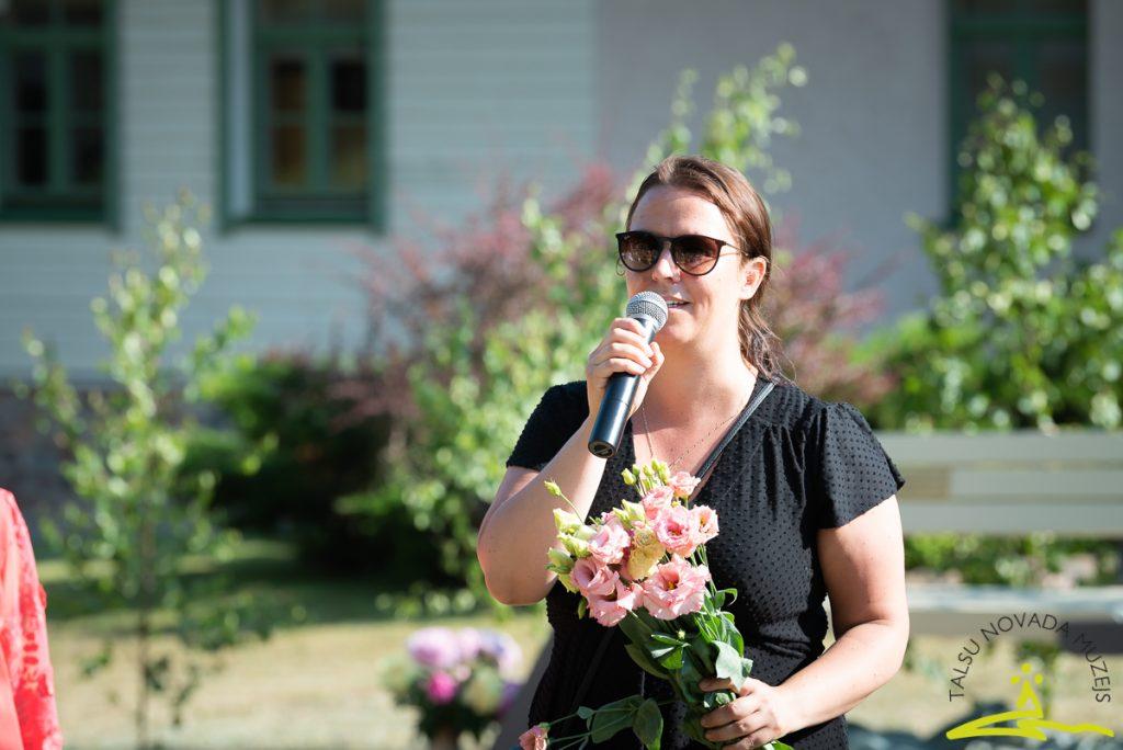 Talsu novada pašvaldības Kultūras un sporta attīstības nodaļas Kultūras daļas vadītāja Sanita Arciševska. 2020. gada 26. jūnijs