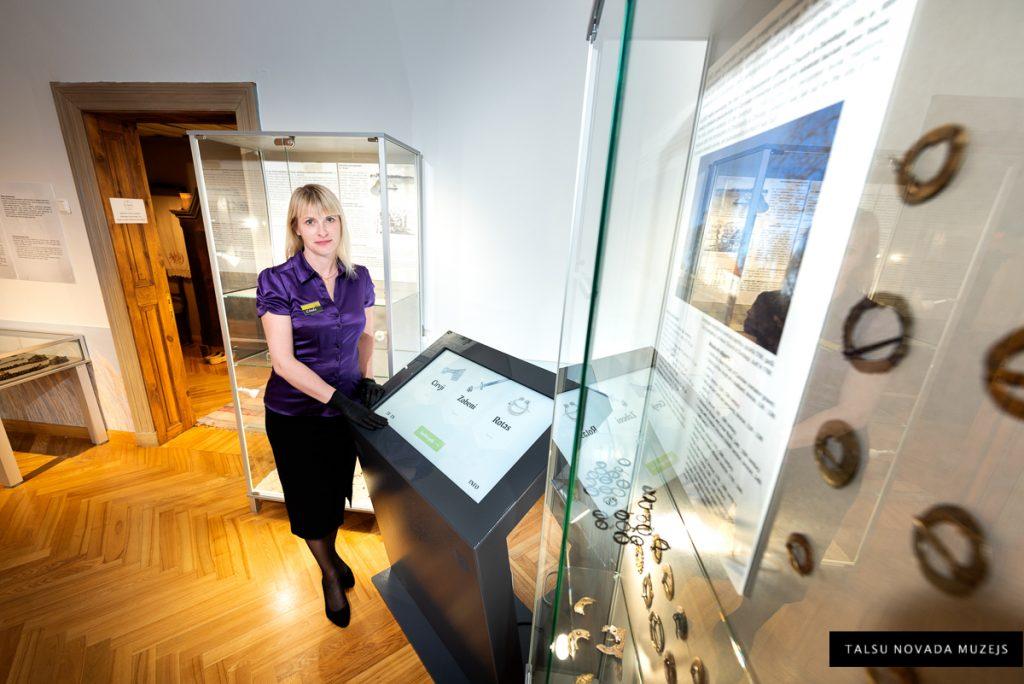 Muzejs no iekšpuses - Linda