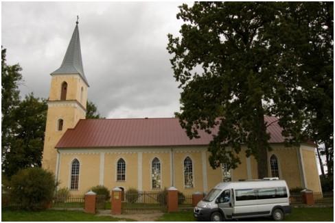 Ārlavas luterāņu baznīcā kristīts Krišjānis Valdemārs.
