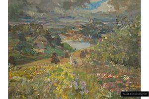 """Zanis Sūniņš """"Apmākusies diena"""", 1946"""