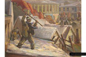"Žanis Sūniņš ""1905. gada revolūcija Talsos"""
