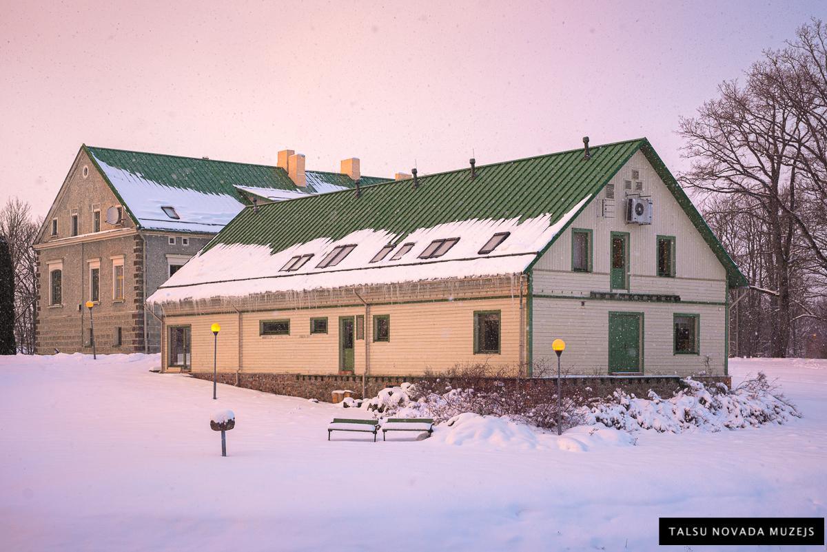 Talsu novada muzeja krājuma ēka un Izstāžu zāle. 2021. gads.