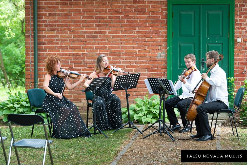 Muzicē Sinfonietta Rīga String Quartet